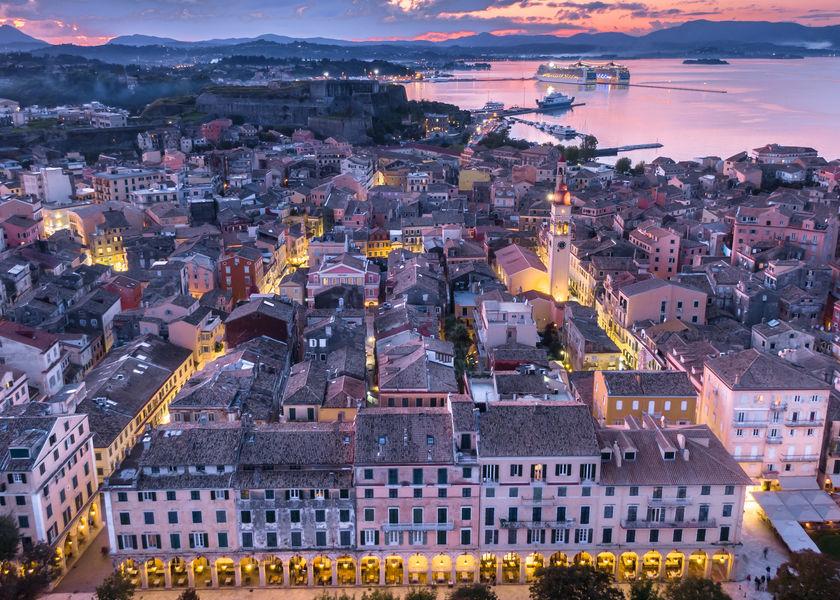 City of Corfu PANAGIOTA TZANNE