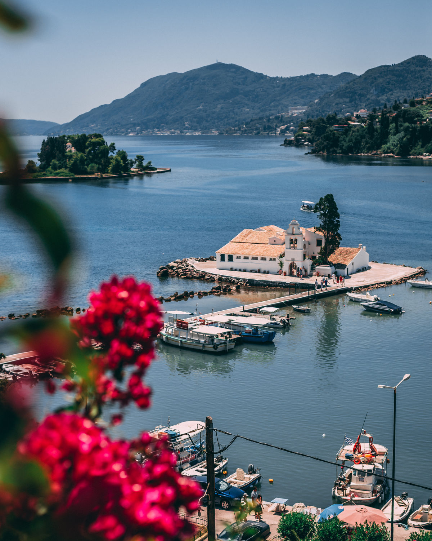 The famous Mouse Island of Corfu PANAGIOTA TZANNE