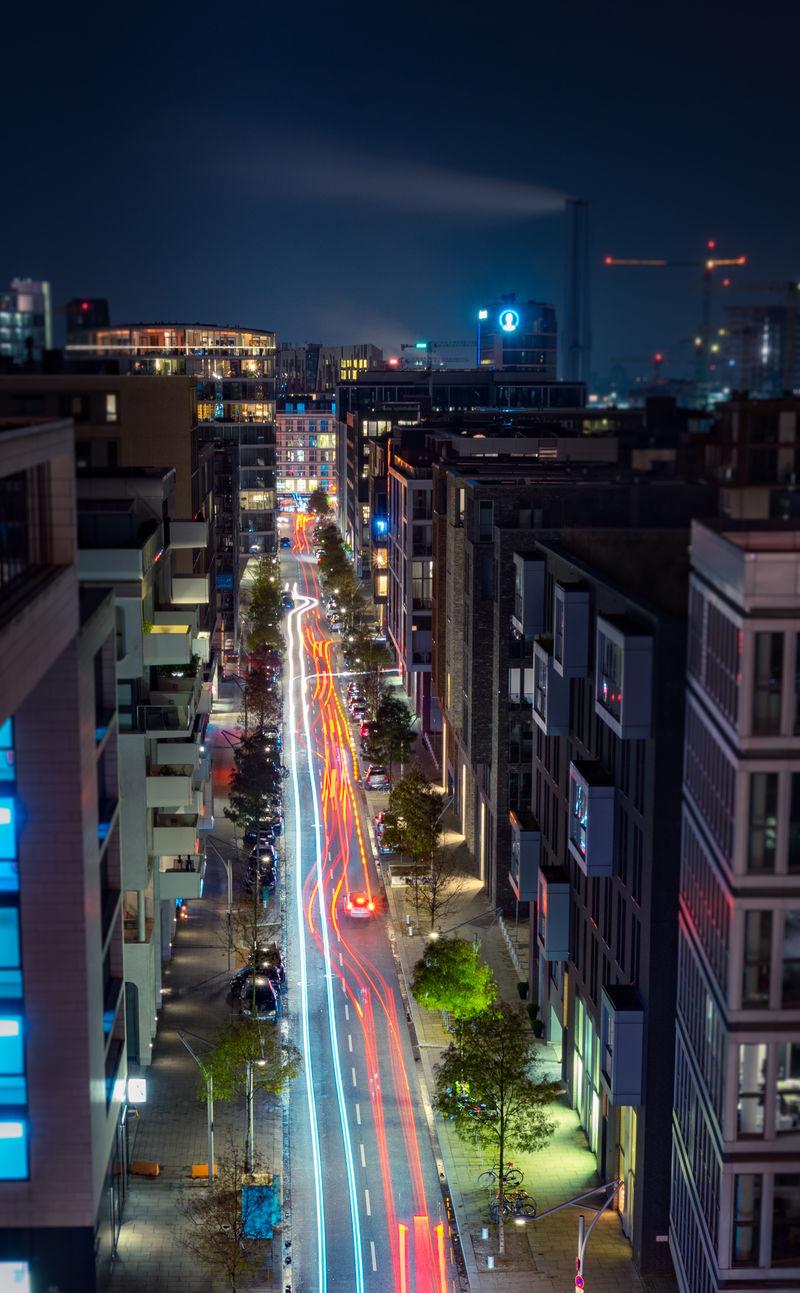 Verkehr in der Hafen City