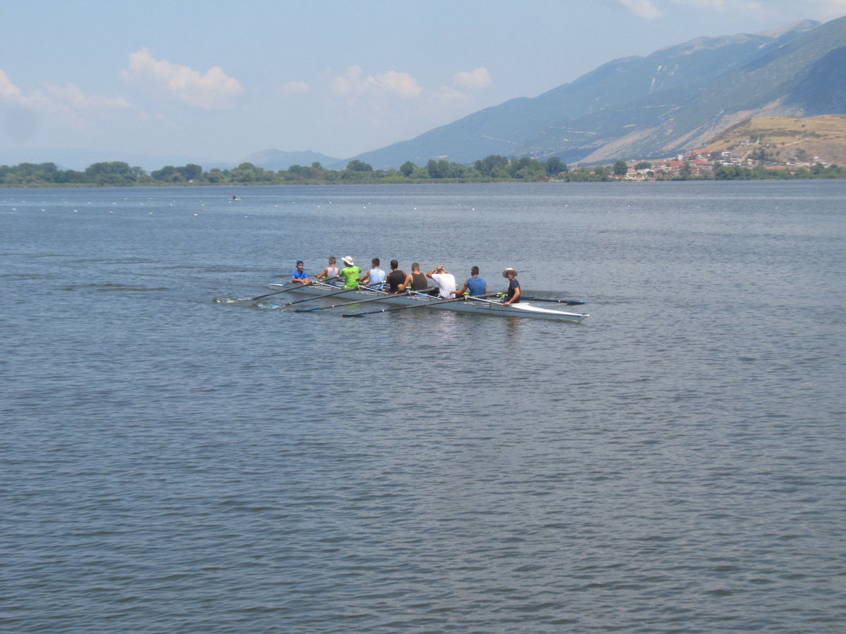 Ioannina - Rowing in the lake - Eleftheria Avgeri