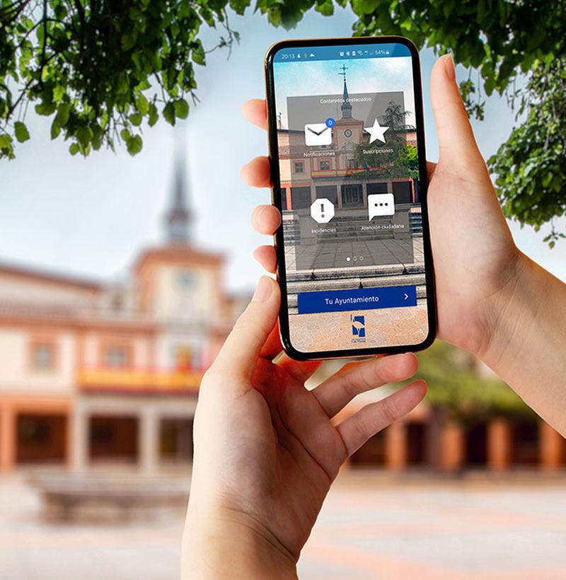 Las Rozas Smart City app JAIME SANTAMARTA