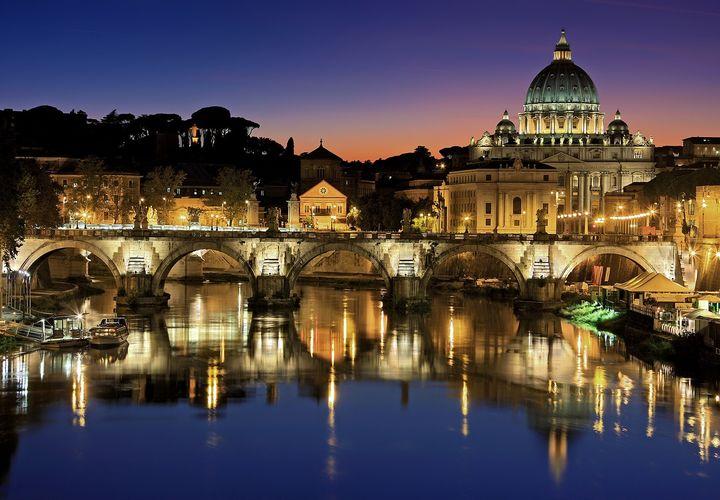 Rome by Night Gianluca Luciani