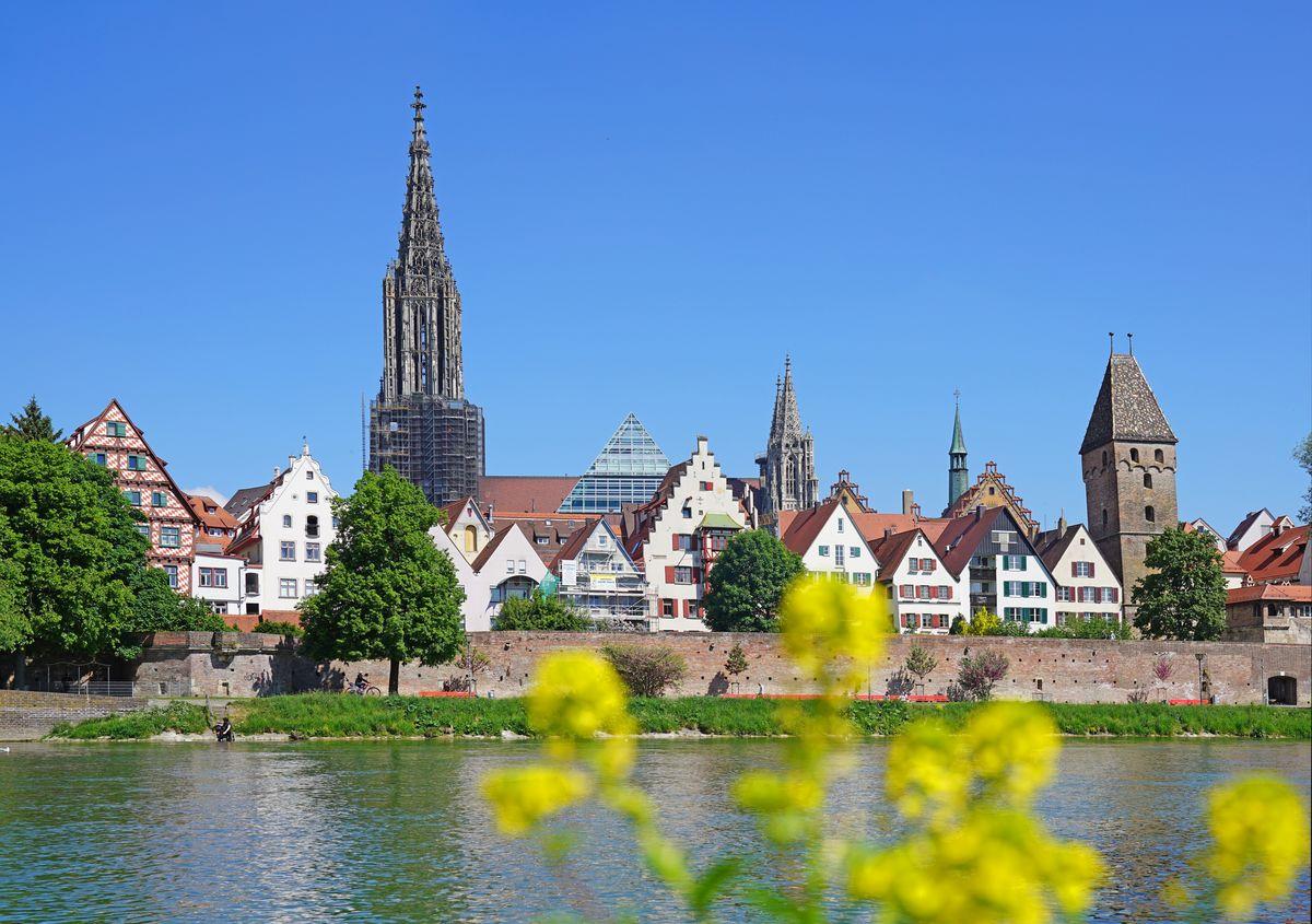 Ulm riverview city centre