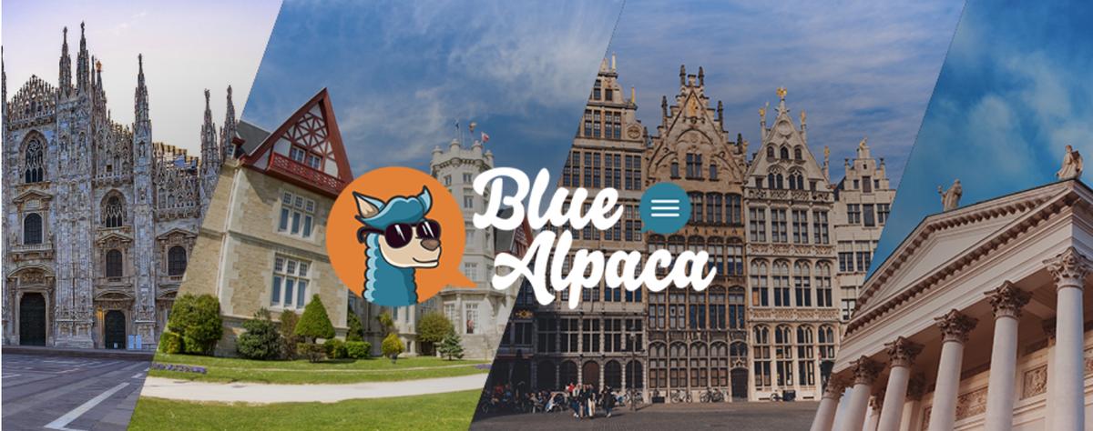 Blue Alpaca
