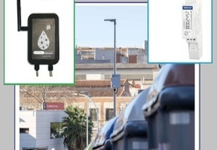 Devices Power Consumption Control via Lo Ra WAN card