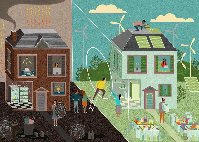 Carbonfootprint netzero homes