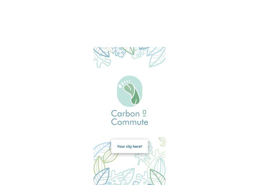 Carbon0Commute