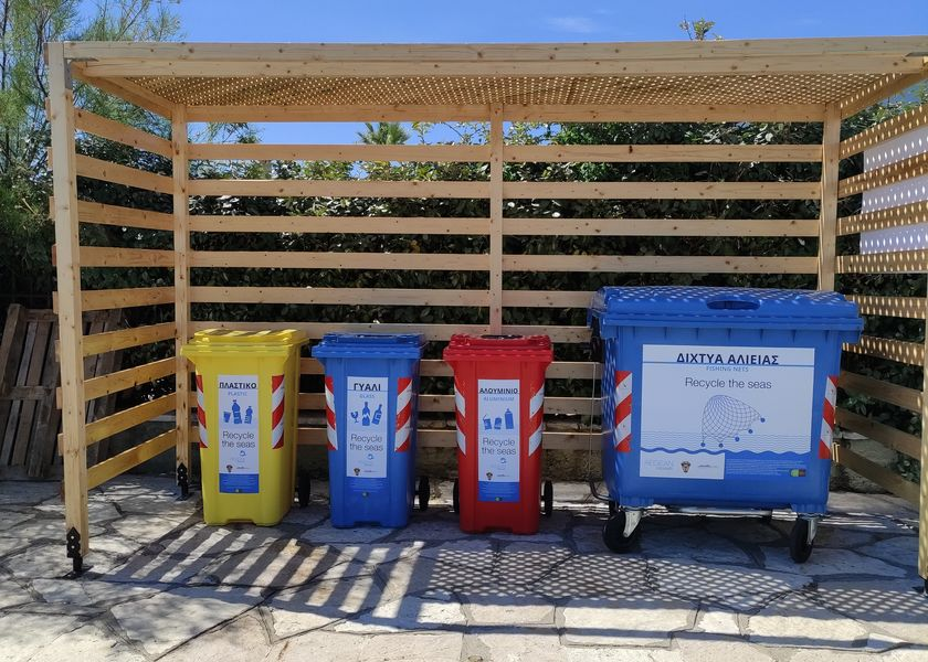 Marine Litter Collection Station banner