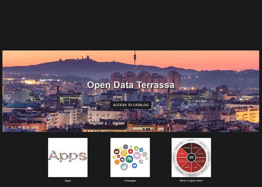 Open data terrassa banner