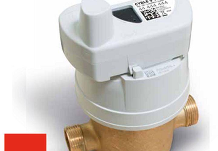 Smart water metering card