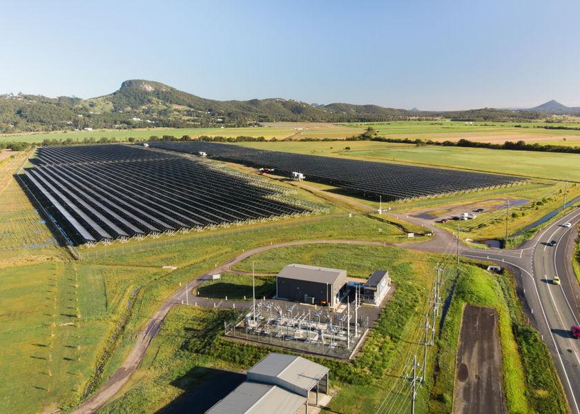 Sunshine Coast solar farm header